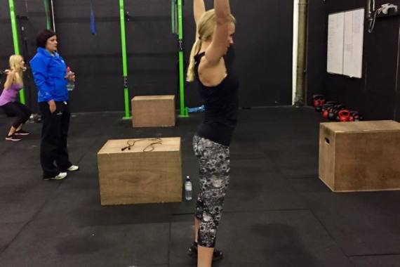 How CrossFit has helped me to tone up and get fit