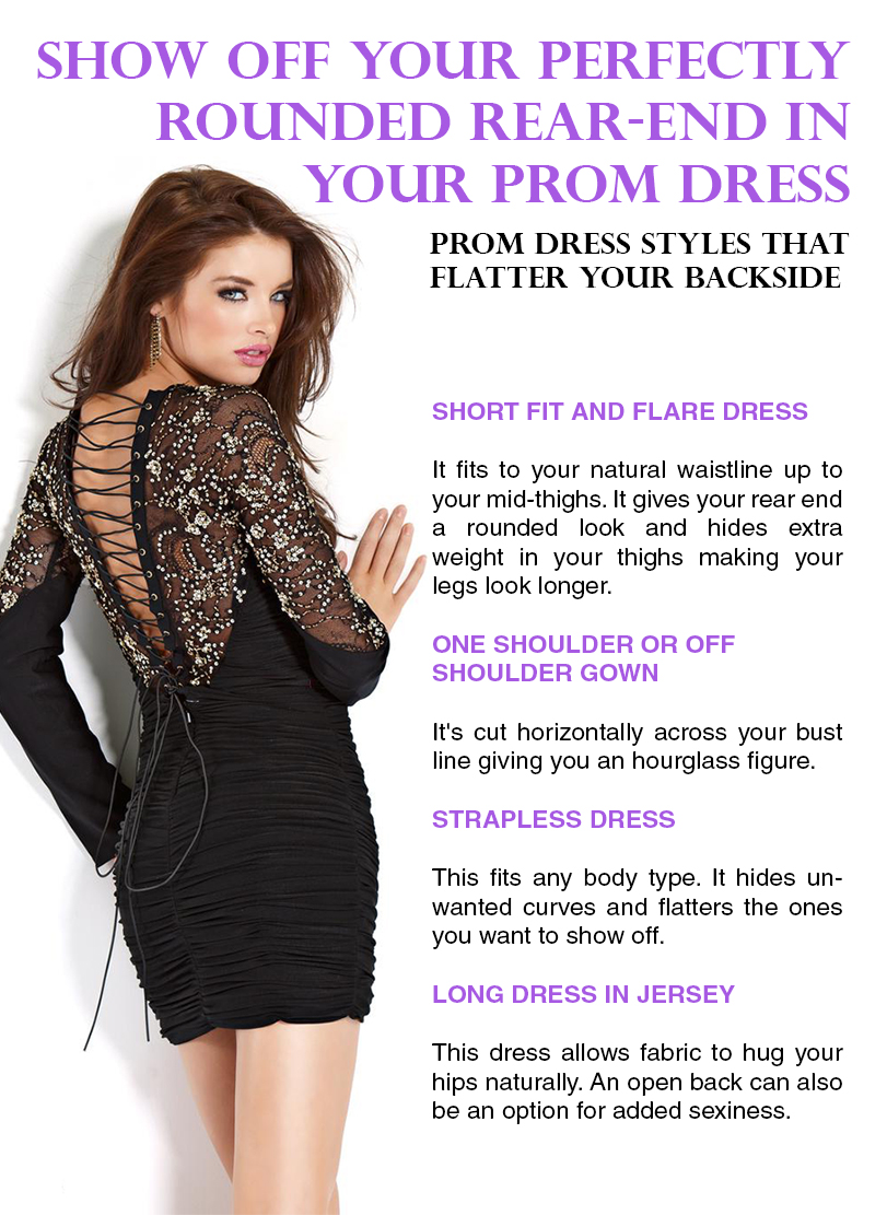 Tips for Choosing Prom Dresses that Flatter your Backside