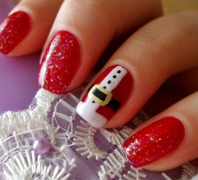 5 Cute Christmas Nail Designs