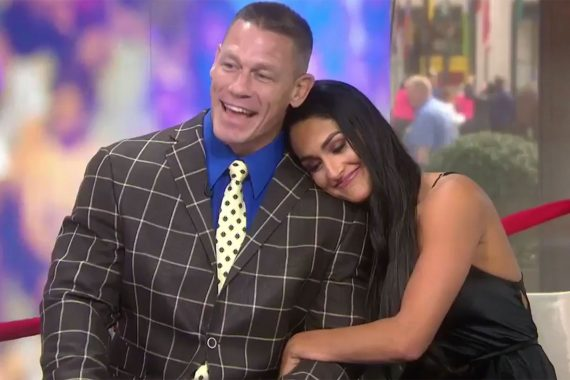 John Cena and Nikki Bella are engaged